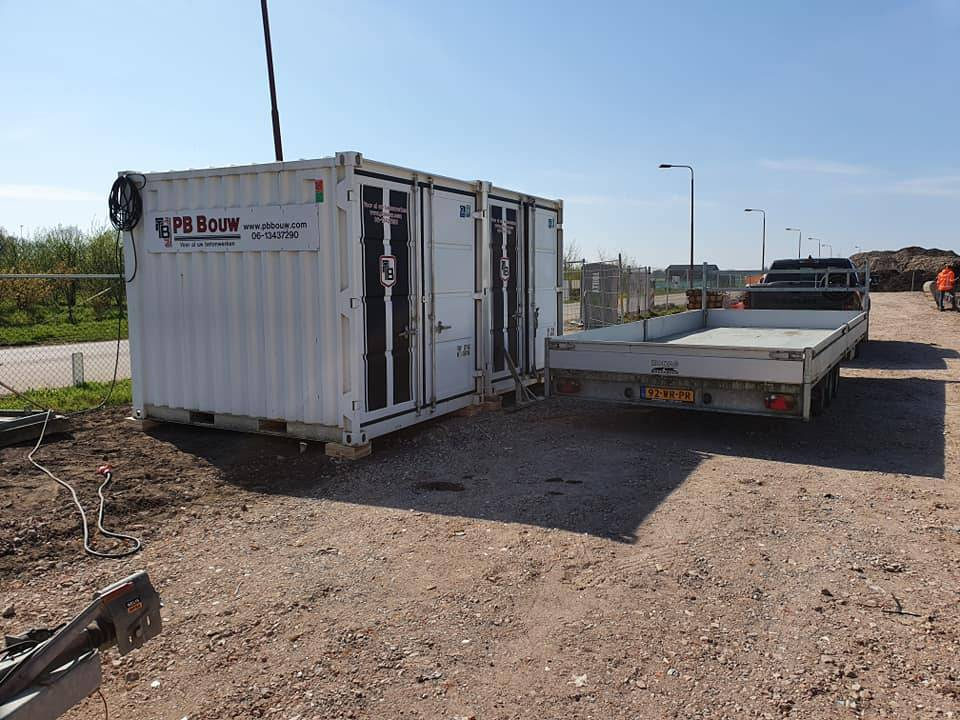 Containers PB Bouw